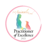 logo for kathleen prasads let animals lead practitioner of excellence logo