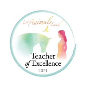 the logo for kathleen prasads Let Animals Lead® Teachers and Leaders 2021 program